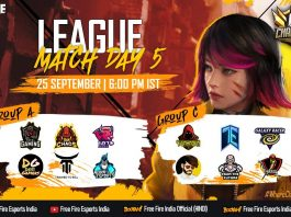 [TAMIL] Free Fire India Championship 2021 Fall | League Match Day 5 | FFIC 2021 Fall